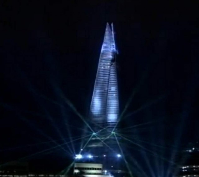 The Shard in London now complete (1)