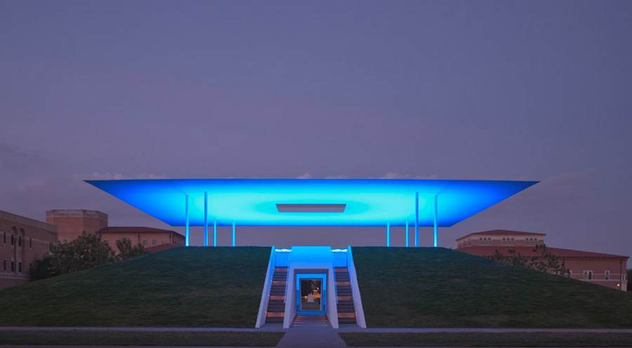 Twilight Epiphany Skyspace at Rice University