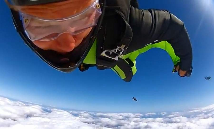Wingsuit Racing