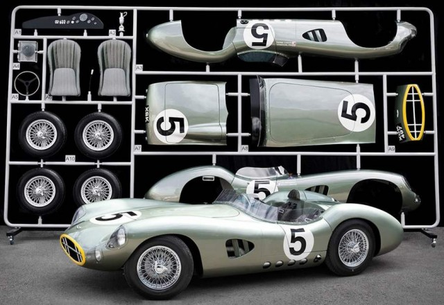 1959 Aston Martin DBR by Evanta 1 1 scale model