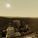360-Degree Interactive image on Curiosity Rover