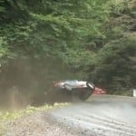 Best save during a Polish rally race
