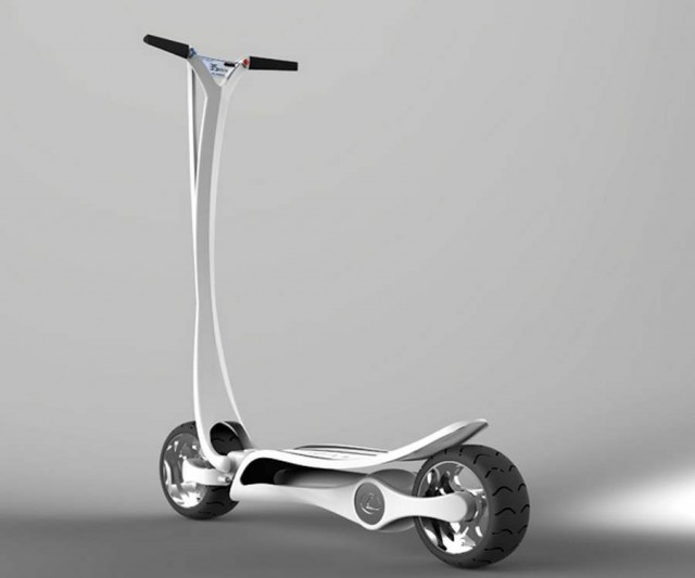 CT-S Electric scooter – wordlessTech
