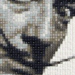 Celebrity Portraits made of keyboards by WBK