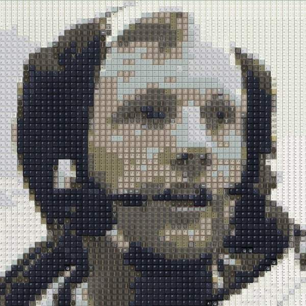 Neil Armstrong by WBK