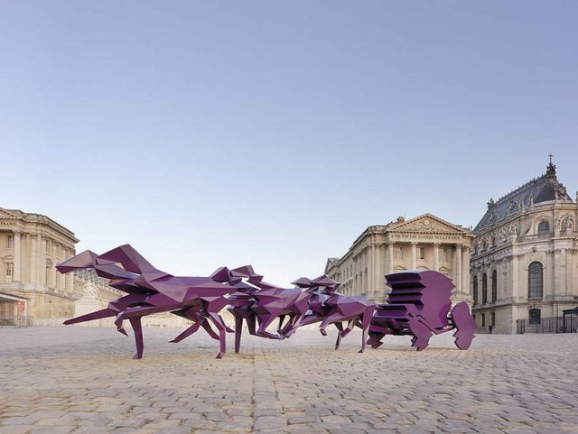 Contemporary Art Exhibition in The Palace of Versailles, Xavier Veilhan