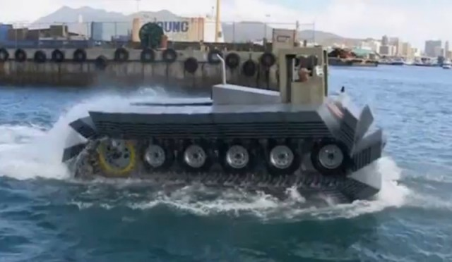 DARPA Captive Air Amphibious Transporters