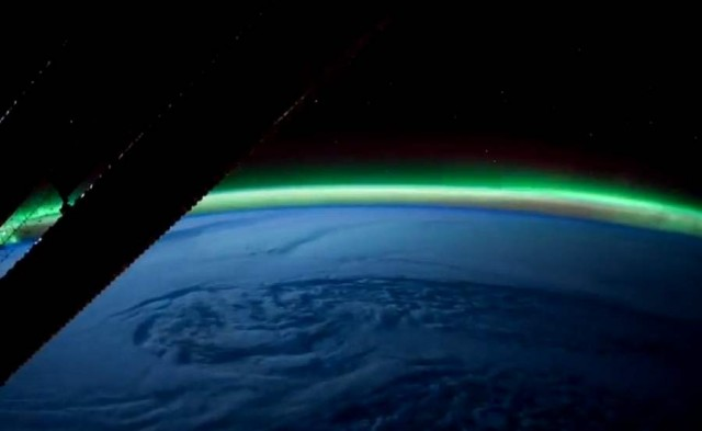 Earth Illuminated from ISS