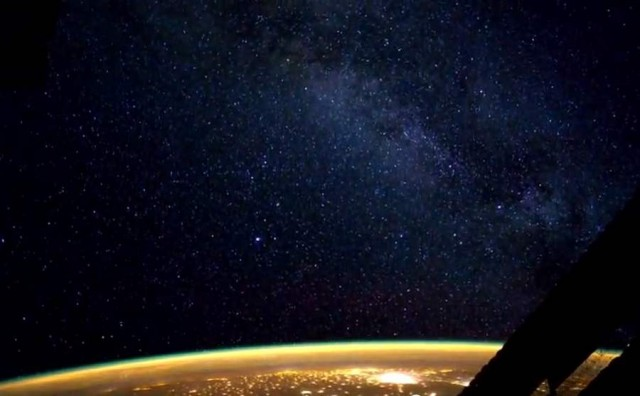 Earth Illuminated from ISS (4)