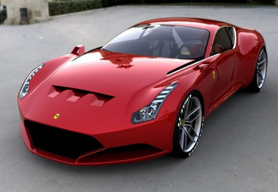 ferrari 612 gto concept wordlesstech. Black Bedroom Furniture Sets. Home Design Ideas