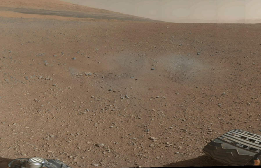 First 360-degree panorama from Mars