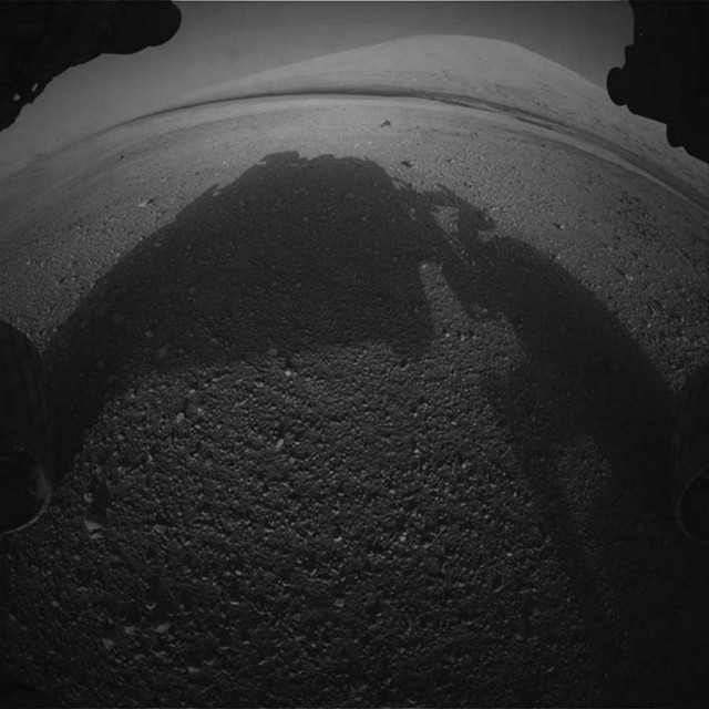 Curiosity image image by front hazcam