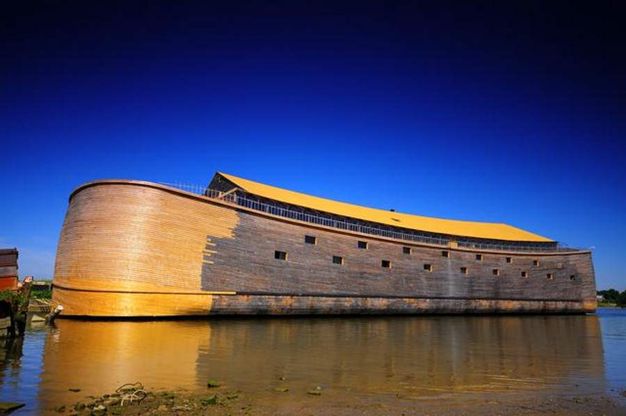 Full-scale Noah's Ark in the Netherlands (1)