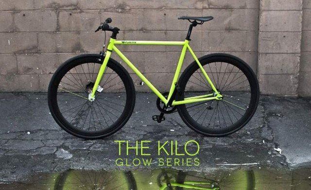 Glow in the dark Bike Frame