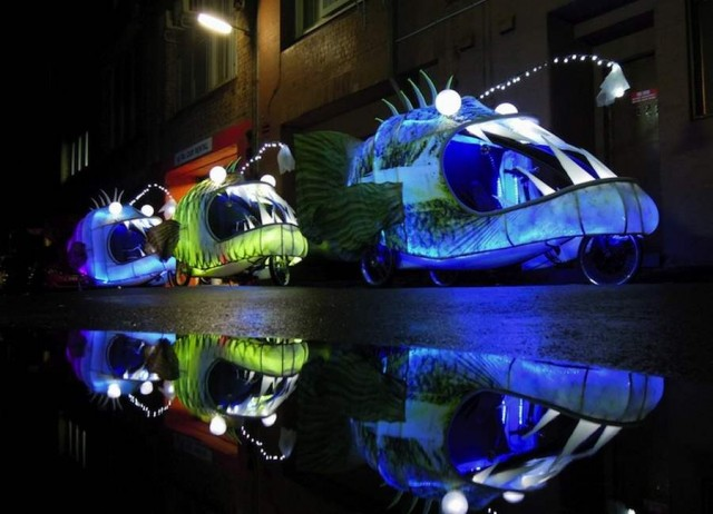 Glowing Angler Fish bicycles (3)