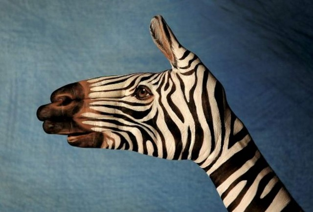 Hand paintings by Guido Daniele (1)