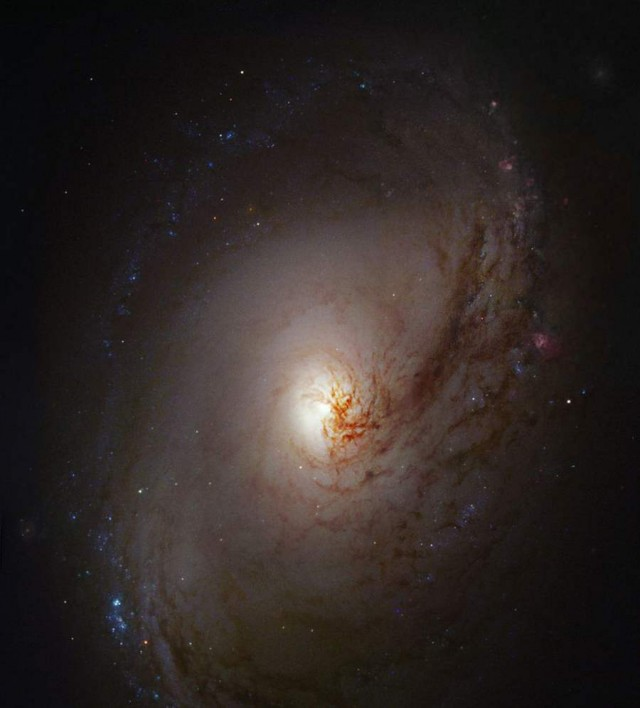 Image of spiral galaxy Messier 96