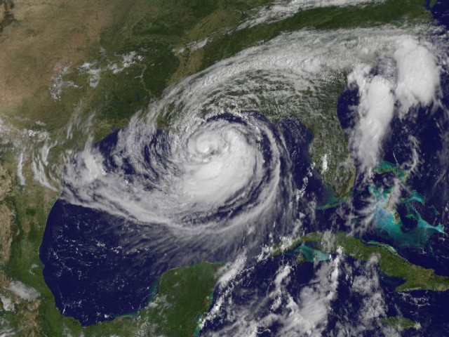 Hurricane Isaac from NOAA's GOES-13 satellite