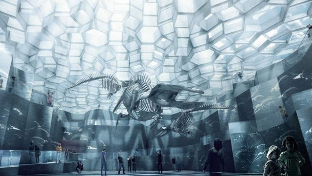 Natural History Museum proposal by BIG architects