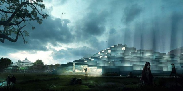 Natural History Museum proposal by BIG architects (2)