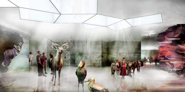 Natural History Museum proposal by BIG architects (6)