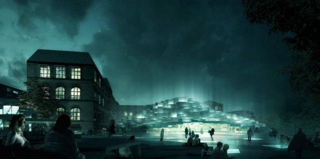 Natural History Museum proposal by BIG architects (4)