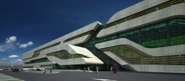 Pierres Vives in Montpellier by Zaha Hadid (8)