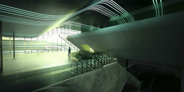 Pierres Vives in Montpellier by Zaha Hadid (3)
