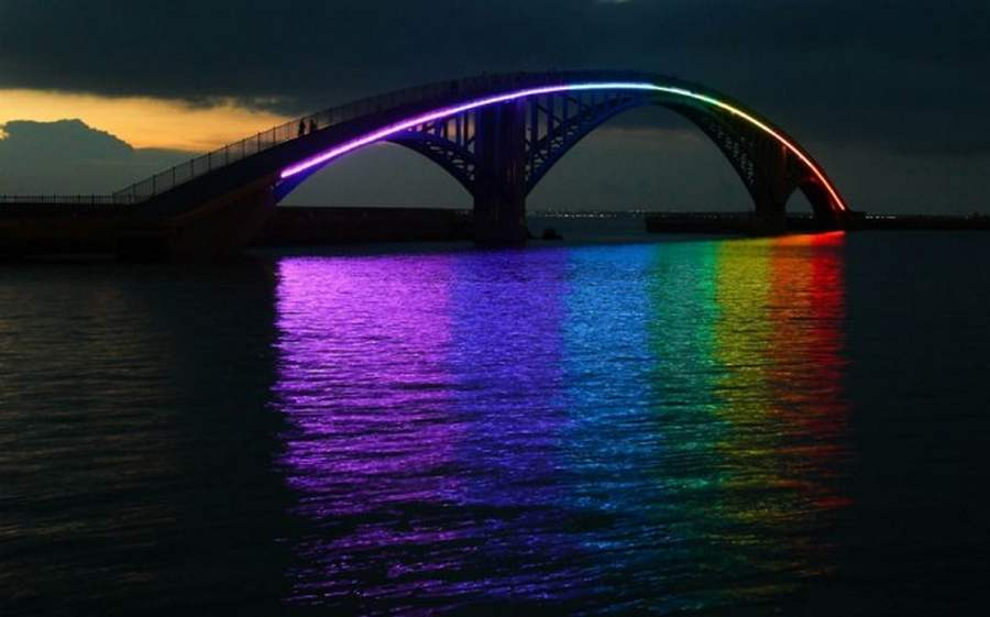 Rainbow Bridge In Penghu Wordlesstech