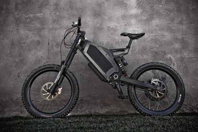 Stealth toughest Electric Bike