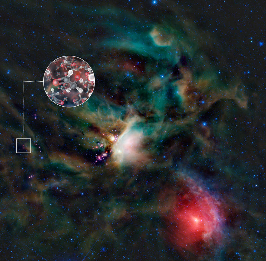 Glycolaldehyde found in Space