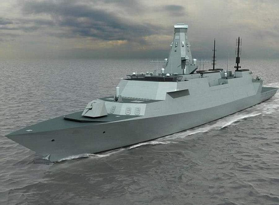 Type 26 - GCS stealth warship
