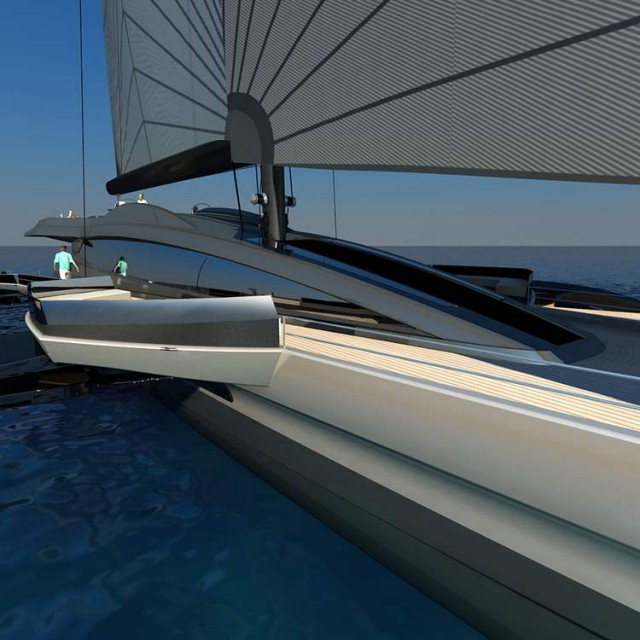 Ultraluxum CXL 160 high-tech sailing yacht (9)