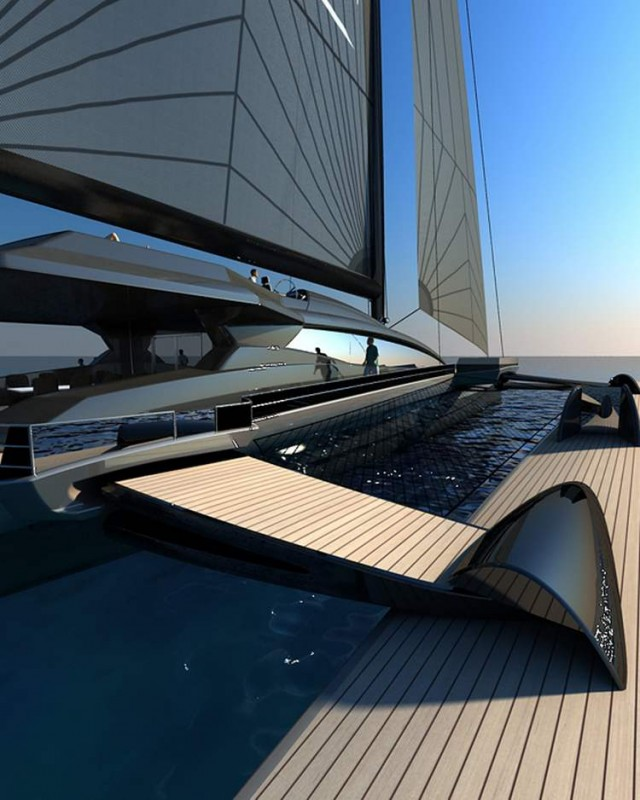 Ultraluxum CXL 160 high-tech sailing yacht (8)