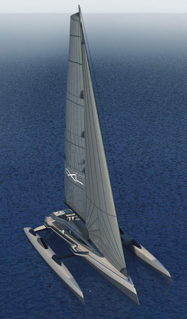 Ultraluxum CXL 160 high-tech sailing yacht (6)
