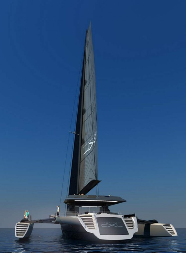Ultraluxum CXL 160 high-tech sailing yacht (4)