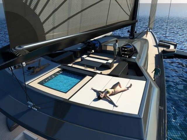 Ultraluxum CXL 160 high-tech sailing yacht