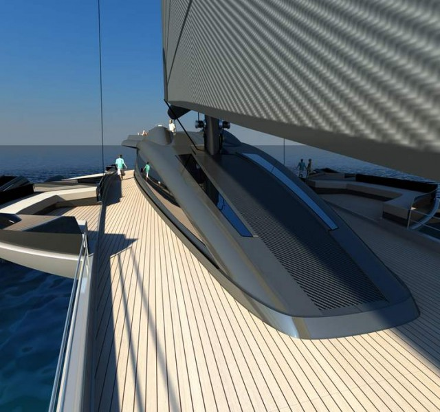 Ultraluxum CXL 160 high-tech sailing yacht (2)