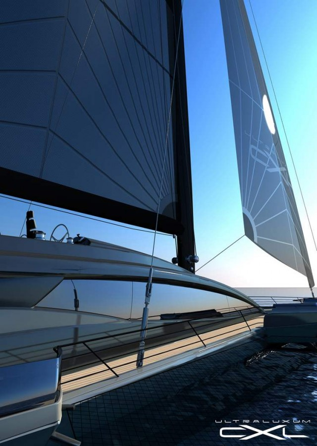 Ultraluxum CXL 160 high-tech sailing yacht (14)