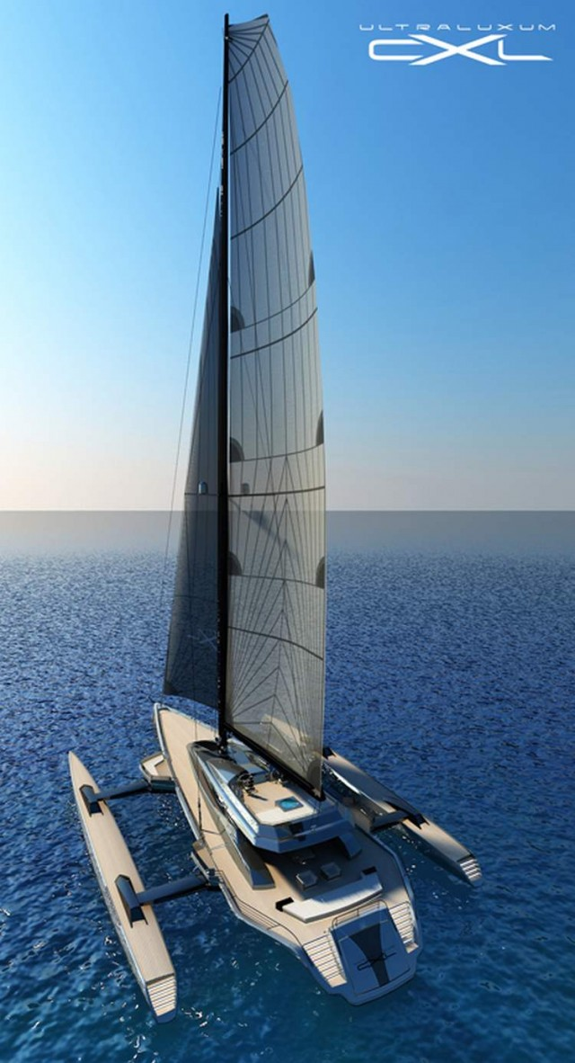 Ultraluxum CXL 160 high-tech sailing yacht (11)