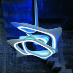 Vortex Chandelier by Zaha Hadid