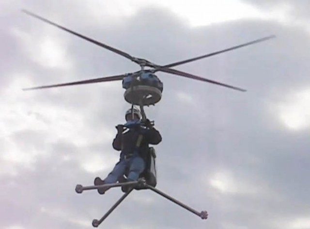 Worlds smallest personal Helicopter