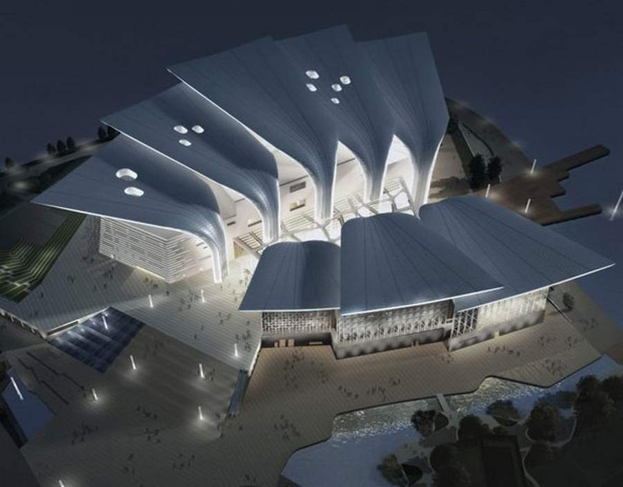 Wuxi Grand Theatre by PES Architects (13)