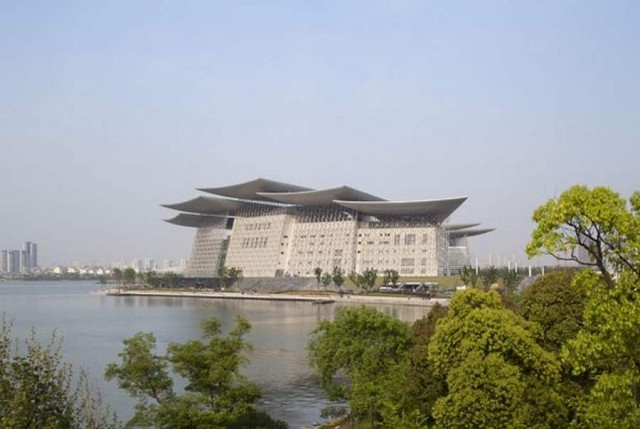 Wuxi Grand Theatre by PES Architects (7)