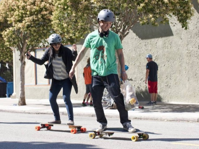 Boosted Boards - the lightest electric vehicle (2)