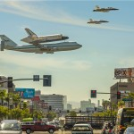 Endeavour over Los Angeles [video]