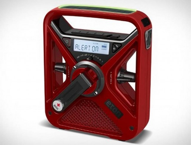 Eton FRX3 solar-powered weather alert radio