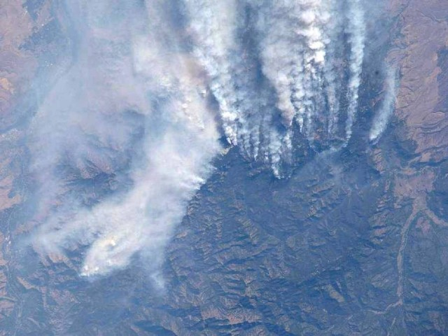 Forest Fires in Idaho-