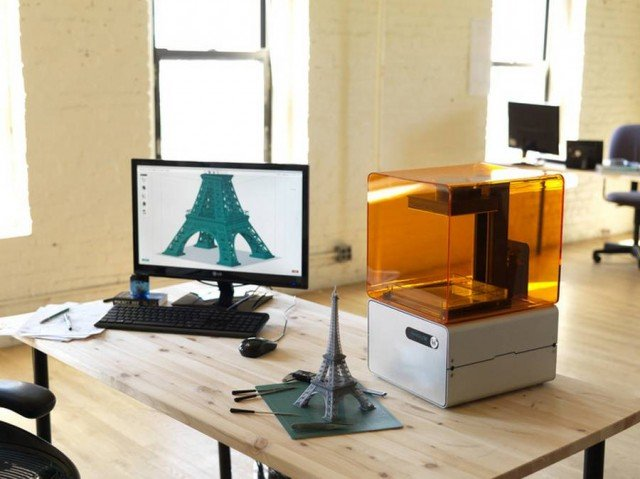 Form 1- an affordable, professional 3D printer (3)