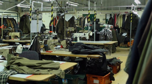 How Barbour wax jackets are made